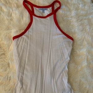 Tank - white with red detailing